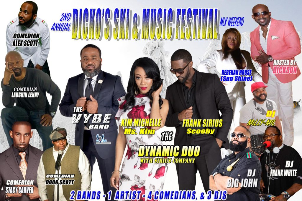 Dicko's Ski & Music Fest 2019 Jan. 18-20, 2019